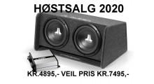 Høstsalg JL Audio CP210 pk.