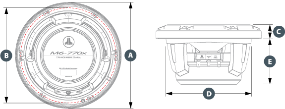 M6-770X dimensjoner